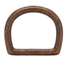 Die Cast D-Ring 1 1/4 x 1 3/16 Id Antique Brass 14867-09