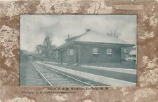 ENFIELD NH – New B. &M. Railroad Station