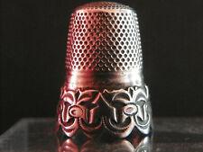 Ancien Dé à coudre en argent / Antique french silver thimble