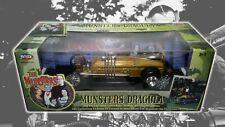 NEW The Munsters Dragula Coffin ERTL Joyride Diecast 1/18 Gold RARE NIB, # 33266
