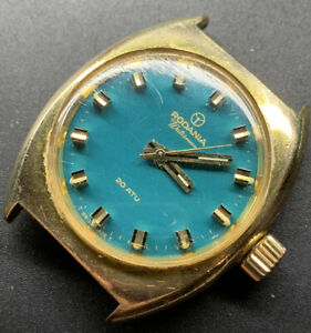 1960s Rodania Waterman Diver 20atm Waterproof Case