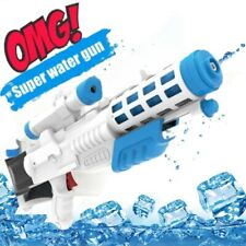 High Pressure Ultra Water Blaster Pump Action Water Gun Toy White Barrel