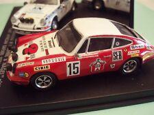 miniature 1/43 Porsche 911 S Monte Carlo 72 B.Waldagaard kit monté Robustelli