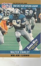 FREE SHIPPING-MINT-1990 Pro Set  #15A Walter Stanley LIONS