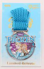 NEW Disney Princess Half Marathon 2015 RunDisney Frozen Anna Elsa 5K Medal Pin