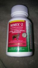 New listing Nemex 2 Oral Pyrantel Dewormer Round & Hookworms in Dogs & Puppies Tastes Good!