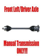 Front Driver Side Axle for Audi A4 Quattro 2002-2008 with Manual Transmission