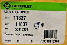 GREENLEE LOCK KIT, ADAPTER - 11837