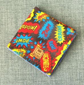 Handkerchief, edc hank, hank, edc gear, Retro Comic Kapow [UK Handmade