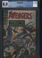 Avengers #32 CGC 8.0 - 1st appearance of Bill Foster BLACK GOLIATH 1966