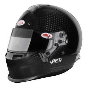Bell HP7 EVOII Motorsport Gloss Carbon Helmet w/ Duckbill - 58cm - FIA 8860-2010