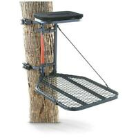 Hang On Hunting Treestand Durable Steel Bow Archery Deer Flip Up Seat 1 Person
