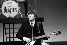 1960s THE BEATLES' John Lennon with Rickenbacker guitar fridge magnet - new!