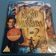 Night at the Museum 1 and 2 / Blu-ray Double Movie Pack with Slipcover