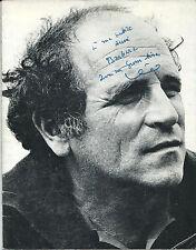 RARISSIME EO PROGRAMME BOBINO 1964-1965 LÉO FERRÉ + BELLE DÉDICACE A BARBARA