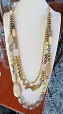 NEW CHICOS  BEAD NECKLACE NWOT