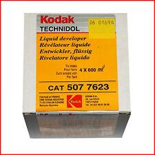 KODAK technidol liquid developer 4x 600ml CAT 507 7623