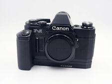 Canon F-A Body film camera / boitier + Motor Drive MZ (FD mount) - #804640