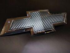 AVT 2014-2017 Chevy Silverado 1500 Pre-cut emblem overlay 3D Carbon Fiber Vinyl