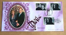 ROYAL WEDDING 1999 BENHAM FDC SIGNED BY FASHION DESIGNER TOMASZ STARZEWSKI