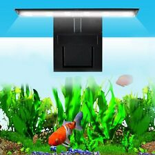 12 LED Fish Tank Aquarium Clamp Clip Water Plant Grow White Color Lighting EU