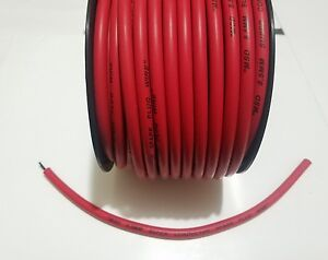 8.5mm MSD IGNITION SUPER CONDUCTOR RED silicone Spark plug wire sold by foot