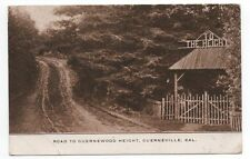 1911 Postcard of Building on Road to Guernewood Heights Russian River CA