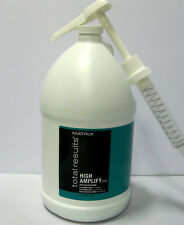 Matrix High Amplify Conditioner Gallon with a Pump Total Results Silicone Free