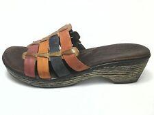 BORN LOLO Multi Womens Casual Shoes Sandals Slides Boho Hippie US 10 EU 42 NWOB