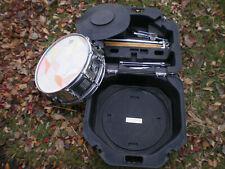 CB700 Snare Drum Kit W/ stand, practice pad, sticks, case, tool nice shape!