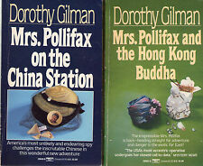Complete Set Series - Lot of 14 Mrs. Pollifax Mysteries by Dorothy Gilman (Ms.)