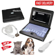 Newest Portable Veterinary Laptop Ultrasound Scanner Machine Micro-Convex Probe