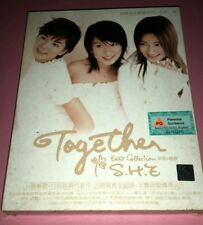 S.H.E. 女朋友 : TOGETHER BEST COLLECTION   新歌+精选 CD + VCD (2003/SINGAPORE )