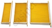 More details for national beehive wired wax foundation sheets and frames beekeeping easibee