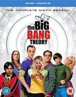The Big Bang Theory - Season 9 [Includes Digital Download] [Blu-ray] [DVD]