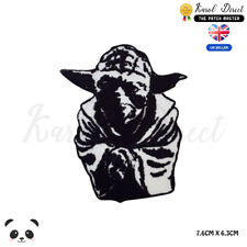 STAR WARS Yoda Master Embroidered Iron On Sew On Patch Badge For Clothes etc