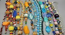 New Lot 18 strands, Lilah Ann Beads, Murano Lampwork, Porcelain, Glass  A-A1202
