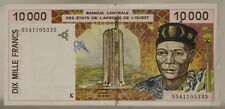 STATI DELL' AFRICA DELL'OVEST WEST AFRICAN STATES 10000 FRANCS 1994-95 #B723