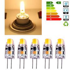 5 Pcs 1.5W LED Ampoules Lumiere Jaune Chaud Eclairage Maison Bureau Magasin