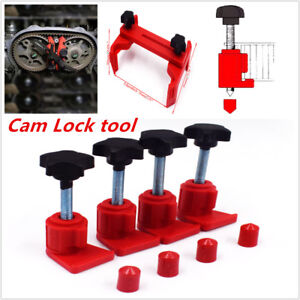 5pcs Dual Cam Clamp Camshaft Engine Timing Sprocket Gear Locking Kit Universal