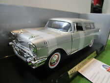 CHEVROLET NOMAD de 1957 gris au 1/18 YATMING 92088 voiture miniature