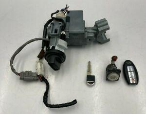 05-06 INFINITI FX35 FX45  IGNITION SWITCH + DRIVER DOOR LOCK CYLINDER W/ KEY SET
