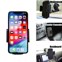 Car 360° Windshield Holder Dash Mount Cell Phone Stand for iPhone XS Max XR XS