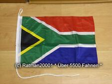 Fahnen Flagge Neu Südafrika Bootsfahne Tischwimpel - 30 x 45 cm