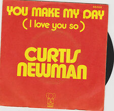"Curtis NEWMAN "" You make my day (  I love You so ) "" 1974. Pink Elephant 86008"