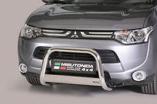 """Mitsubishi Outlander  2013- up  Ø63mm BULL BAR NUDGE BAR """"CE APPROVED""""Frontbügel"""