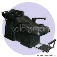 Shampoo Backwash Unit Bowl Chair Bed Salon Equipment LS