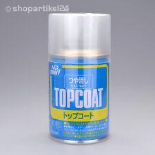 (9,87€/100ml) Mr. TOPCOAT KLARLACK Spray Flat matt - Mr.Hobby B-503