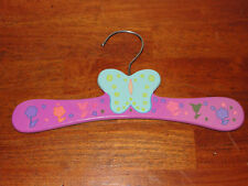 Kidorable Butterfly Painted Wooden Hanger