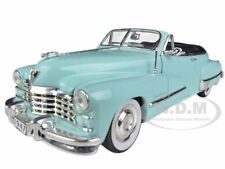 1947 CADILLAC SERIES 62 LIGHT BLUE CONVERTIBLE 1/32 CAR SIGNATURE MODELS 32349